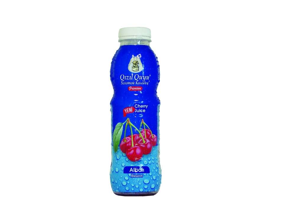 Напиток сочный фруктовый вишня Qızıl Quyu