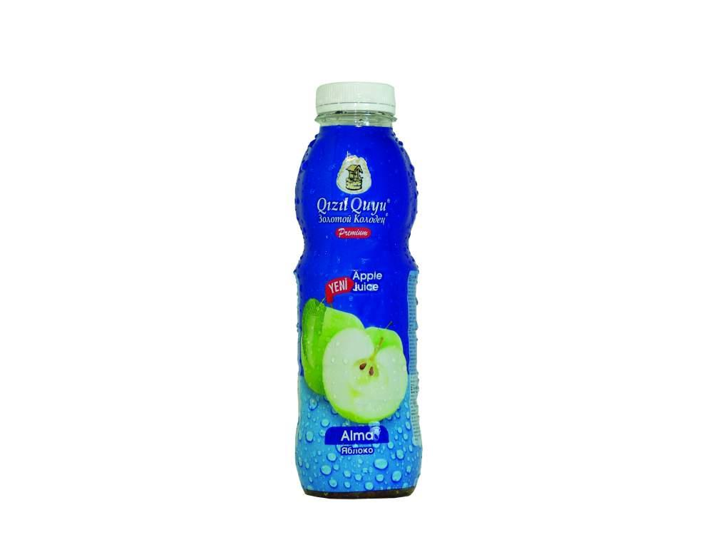 Напиток сочные фруктовые напитки яблоко Qızıl Quyu
