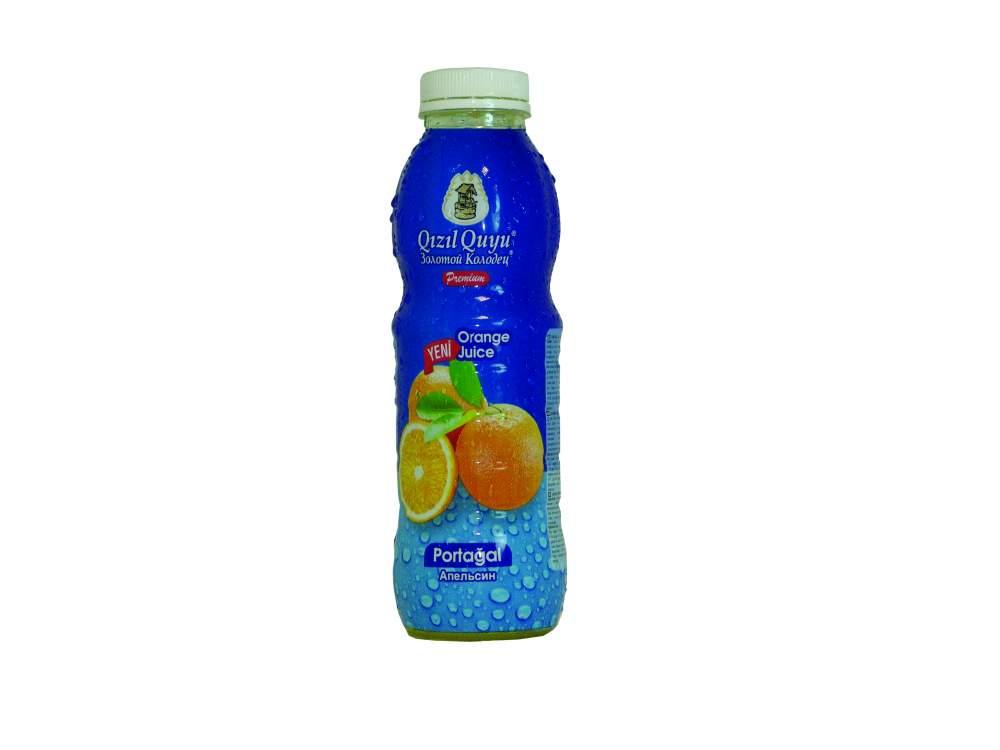 Напиток сочный фруктовый апельсин Qızıl Quyu