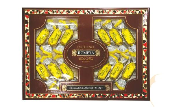 Buy Chocolates with a jelly stuffing of Romeya banan