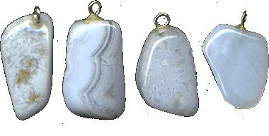 Купить Подвески из агата-сапфирина