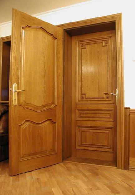 Установка дверей деревянных цена
