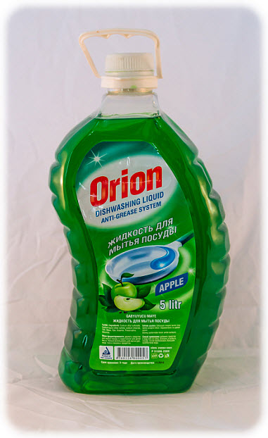 Liquid for washing of ware with aromas Orion apples the 5th liter