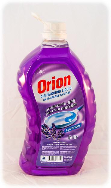 Средство для мытья посуды Orion, с ароматом лаванды, 5 л