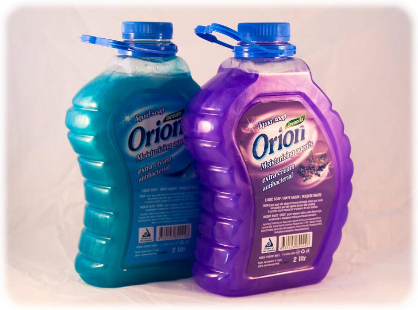 Жидкое мыло антибактериальное Orion 2 л Лавендер