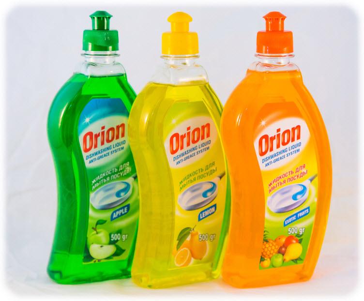 Моющие средство для для посуды Orion 500 гр
