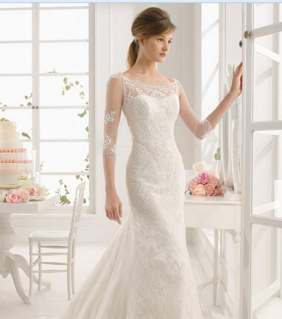 Свадебное платье фасона рыбка фото