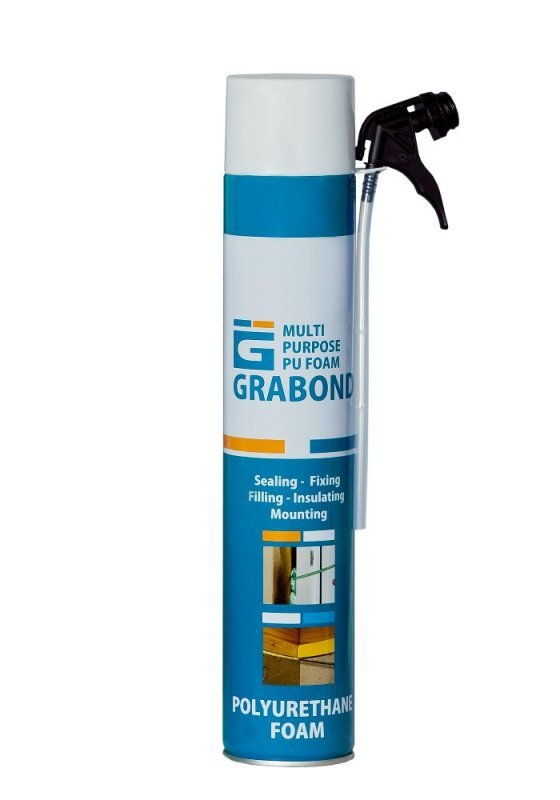 Купить Grabond Multi Purpose Normal PU Foam 750ml/840gr