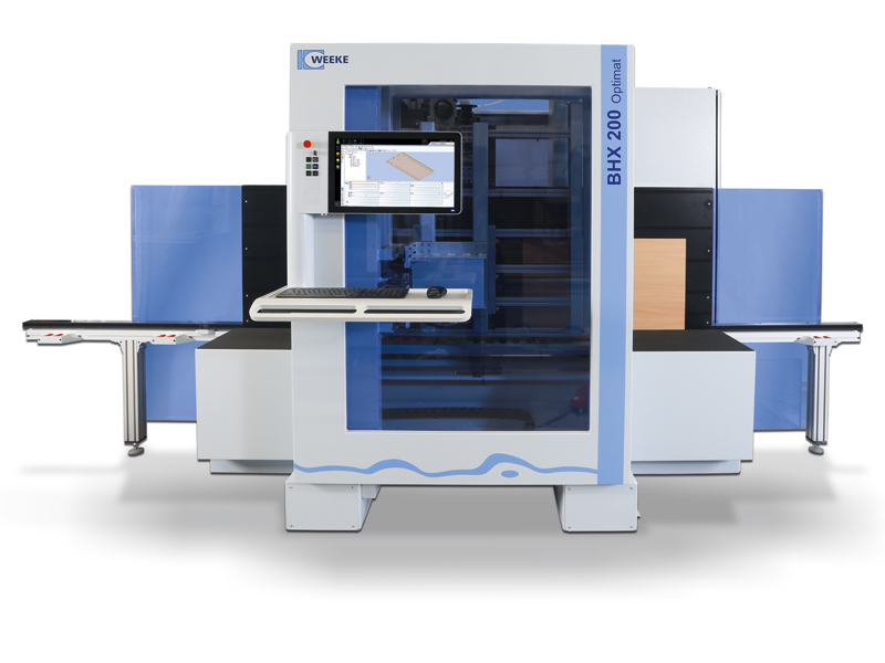 The processing center with ChPU WEEKE BHX 200 / 200/D
