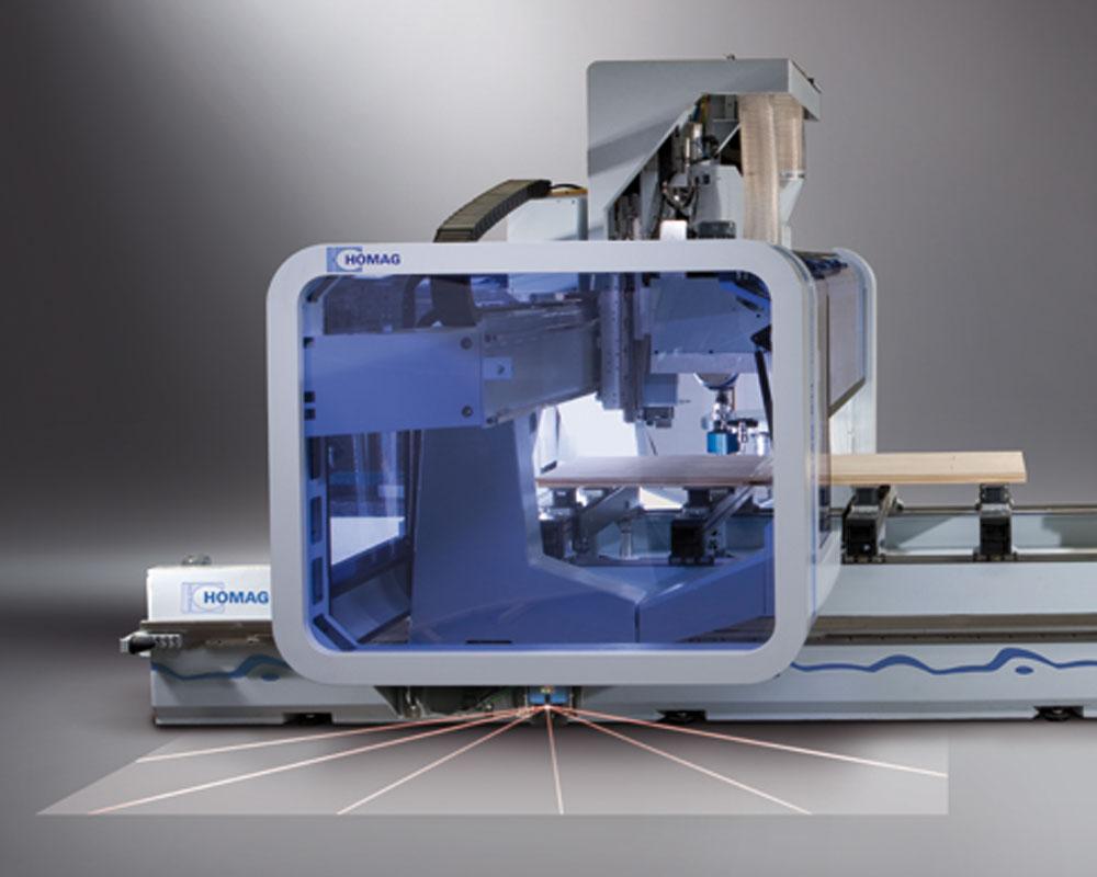 Обрабатывающие центры с ЧПУ BMG 500/600 - производство окон