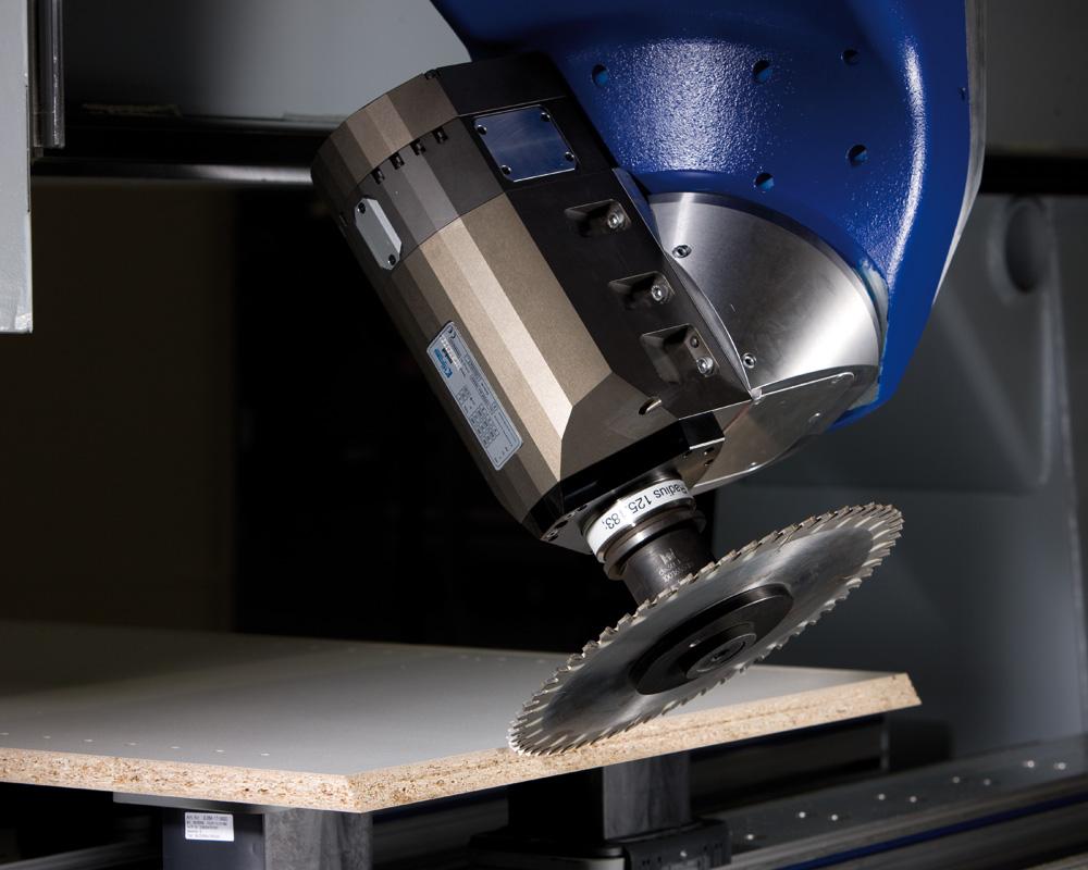 Обрабатывающие центры с ЧПУ BMG 500/600 - производство мебели