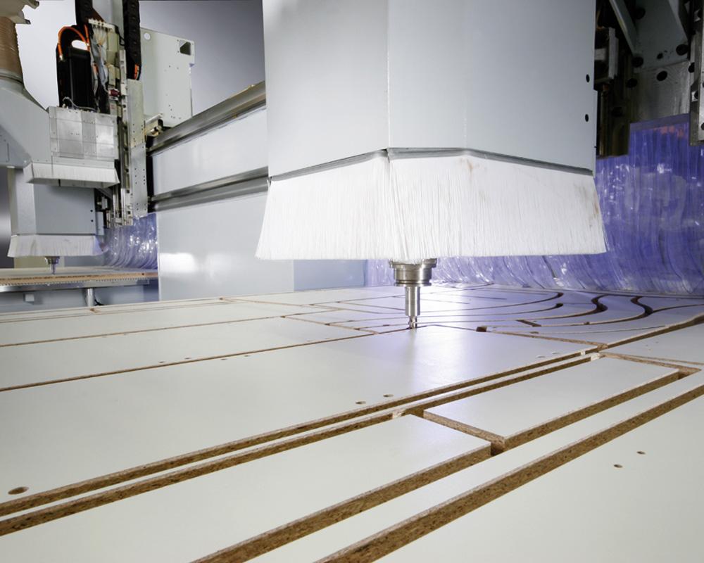 Обрабатывающие центры с ЧПУ B600/700 - нестинг