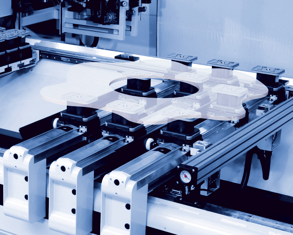Обрабатывающие центры с ЧПУ B600 - обработка пластика