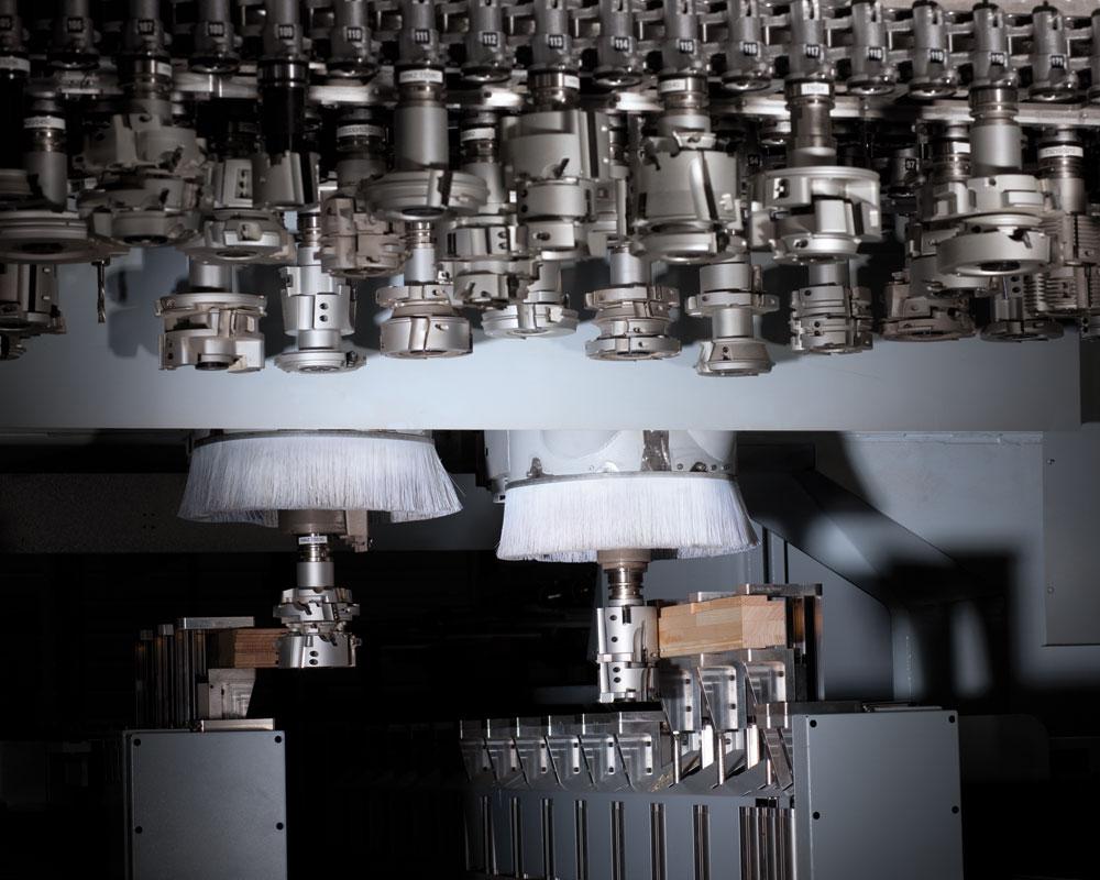 Обрабатывающие центры с ЧПУ BMB 900 powerProfiler - производство окон