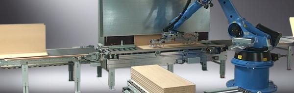 Роботизированная установка для укладки заготовок VRE 100