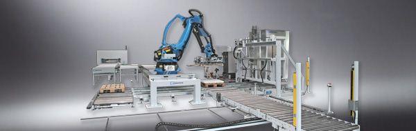 Робот  для упаковки деталей VRA 100