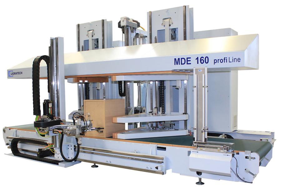 Пресс для корпусной мебели MDE 160