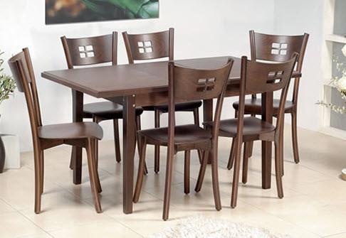 Стол и стулья для кухни фото с ми