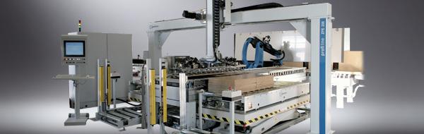 Роботизированная установка для двухсторонней укладки заготовок - VRE 300