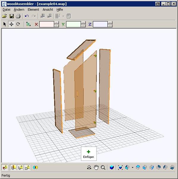 Программное обеспечение  виртуальное конструирование заготовок в программе woodWOP