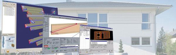 Программное обеспечение для деревянного каркасно-панельного домостроения