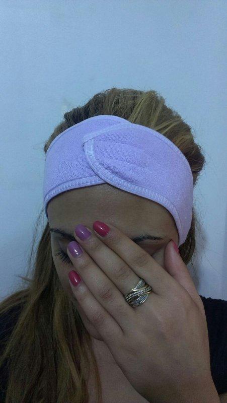 Купить Косметическая повязка на голову