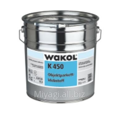 Купить Объектный клей для паркета Wakol K 450