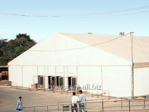 Стандартная конструкция шоу-рум пролет от 30м до 50м
