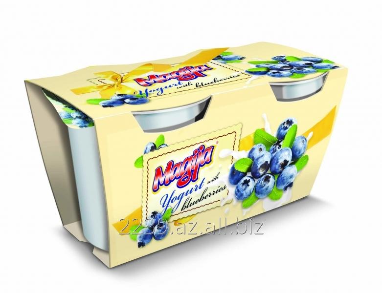 Buy Magija yogurt with blueberry