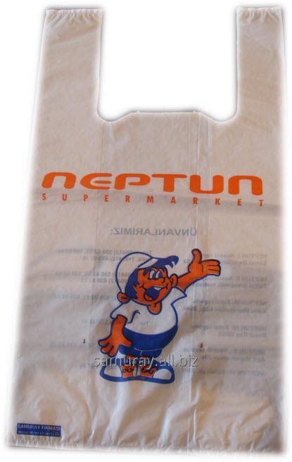 Купить Полиэтиленовый пакет с логотипом