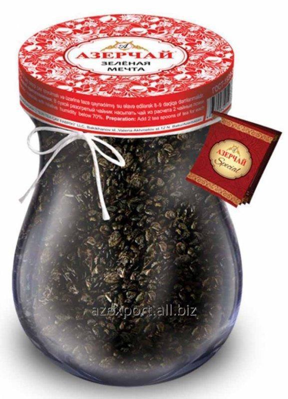 Азерчай зелёная мечта370 гр армуду (чай)