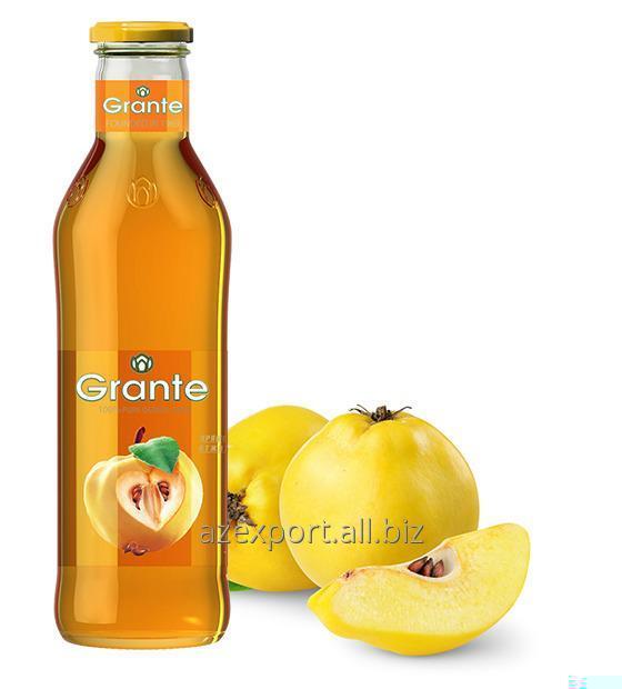 Айвовый сок прямой отжим