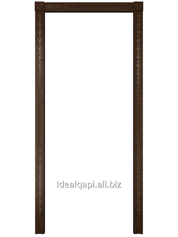 Купить Погонажное изделие Вариант №10 шпон Натуральный Дуб тон Каштан