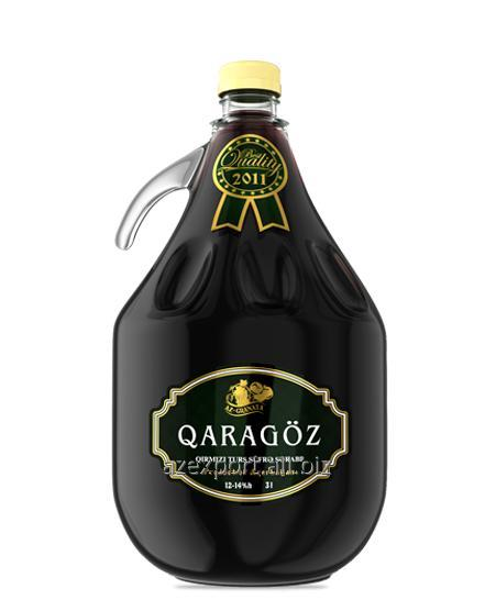 """Купить """"Карагёз"""" Красное сухое вино"""