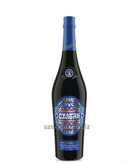 """""""Султан"""" Красное Сухое Вино"""