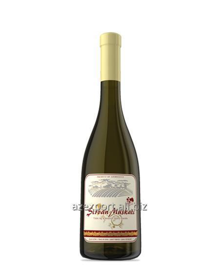 "Acheter ""MUSCAT Chirvan"" vin blanc semisweet"