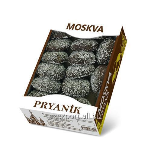 """Acheter """"Gingerbread Moscou"""" dans le chocolat / coco 400gr x 6 pcs"""