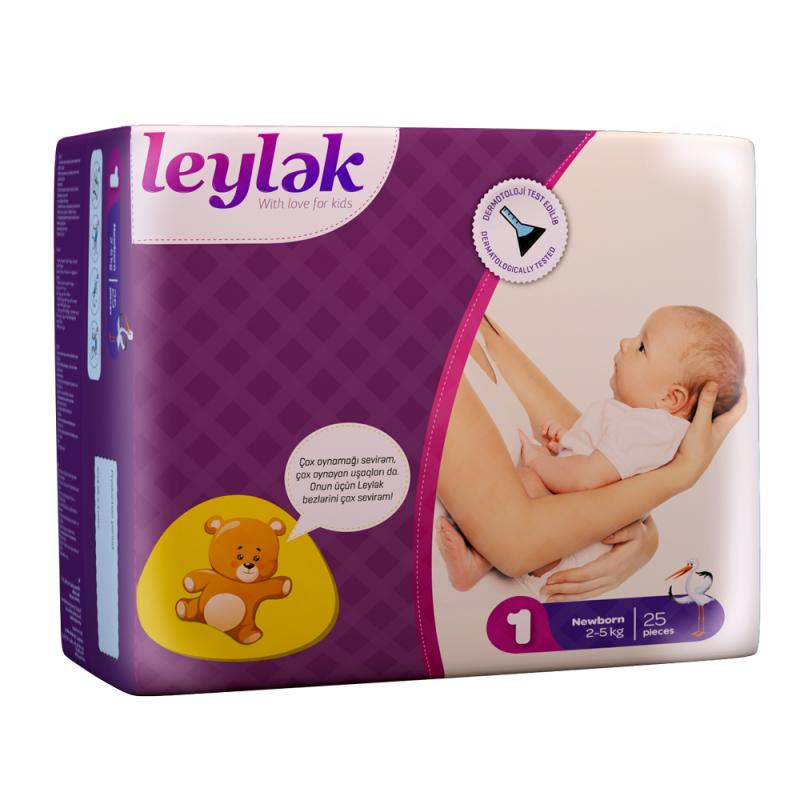 Купить Leylək детские подгузники 1(25)