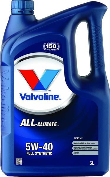 Купить Всесезонное моторное масло для легковых автомобилей All-Climate 5W-40