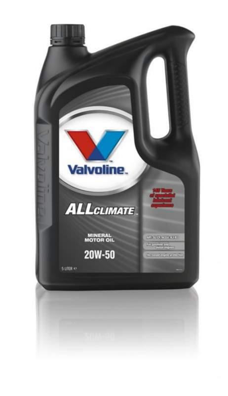 Купить Всесезонное моторное масло для легковых автомобилей All-Climate 20W-50