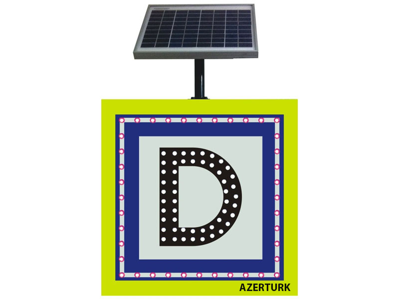 Купить Светодиодные дорожные знаки на солнечных электростанциях