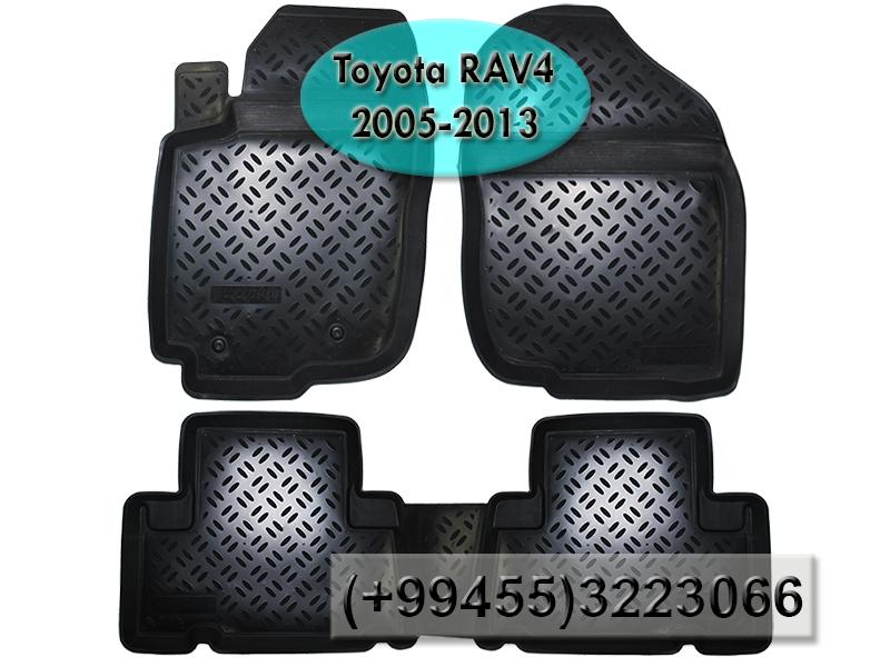 Купить Toyota Rav4 2005-2013 üçün poliuretan ayaqaltilar, Полиуретановые коврики для Toyota Rav4 2005-2013 .