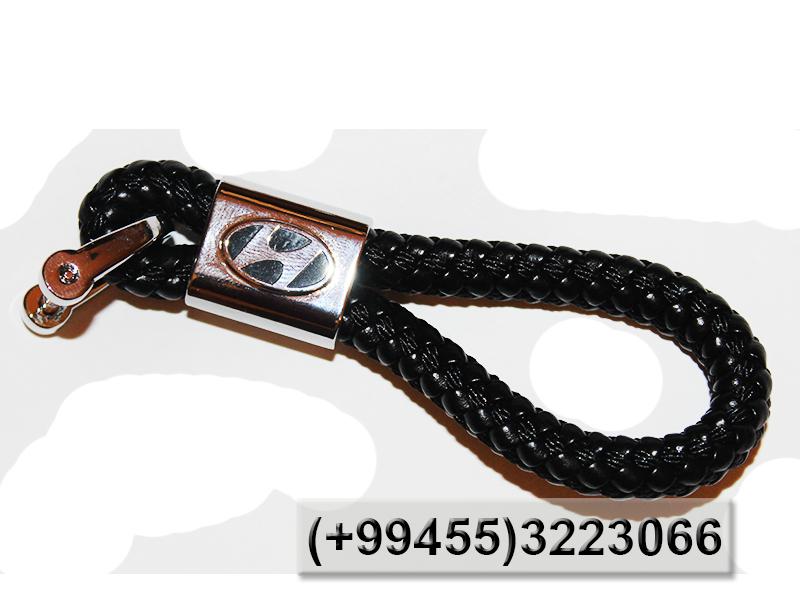 Купить Hyundai üçün dəri brelok, Кожаный брелок для Hyundai.