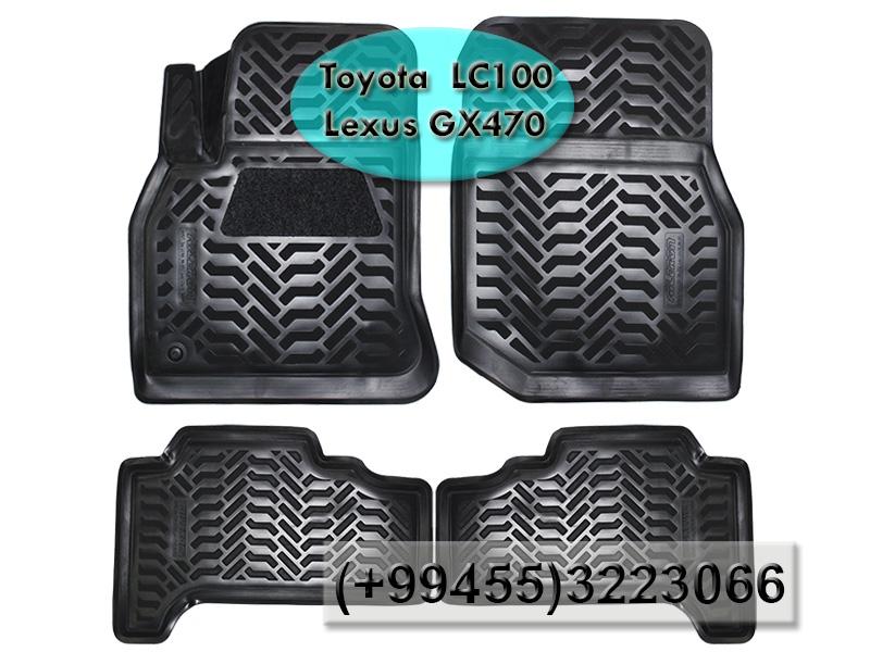 Купить Toyota Land Cruiser 100 LC100 ve Lexus GX470 üçün poliuretan ayaqaltılar.