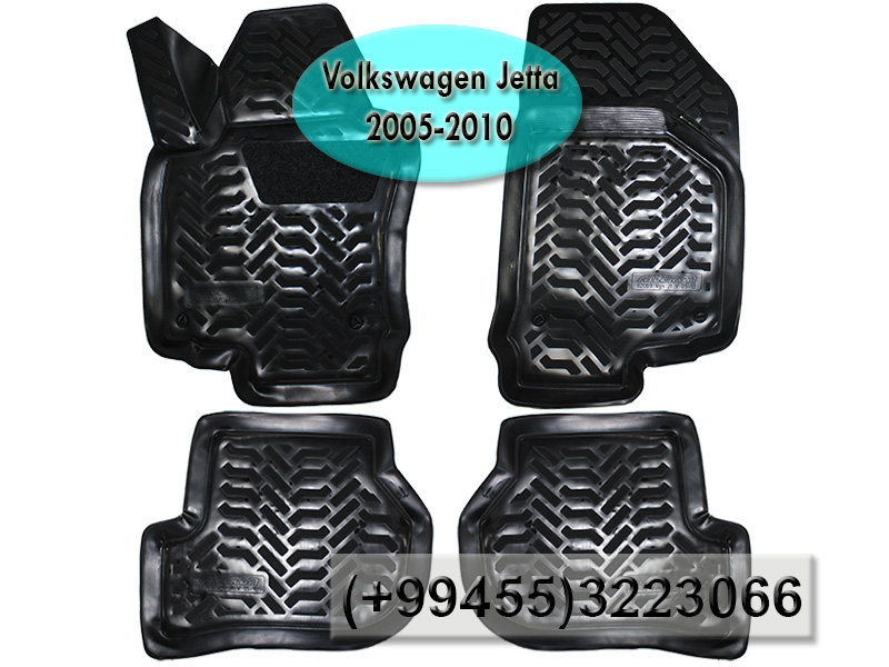 Купить Volkswagen Jetta 2005-2010 üçün poliuretan ayaqaltılar,Полиуретановые коврики для Volkswagen Jetta 2005-2010.