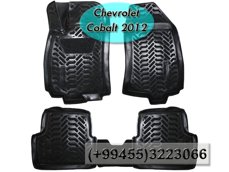 Купить Chevrolet Cobalt 2012 üçün poliuretan ayaqaltılar,Полиуретановые коврики для Chevrolet Cobalt 2012.