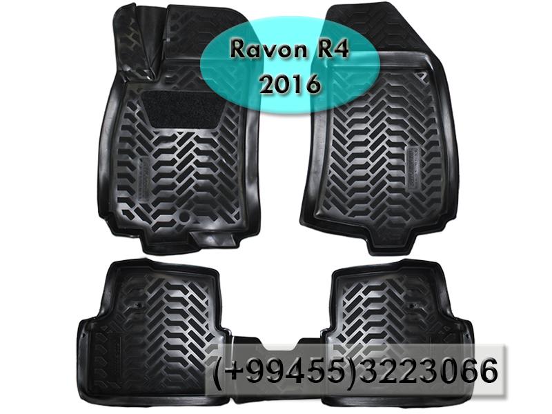 Купить Ravon R4 2016 üçün poliuretan ayaqaltilar,Полиуретановые коврики для Ravon R4 2016.