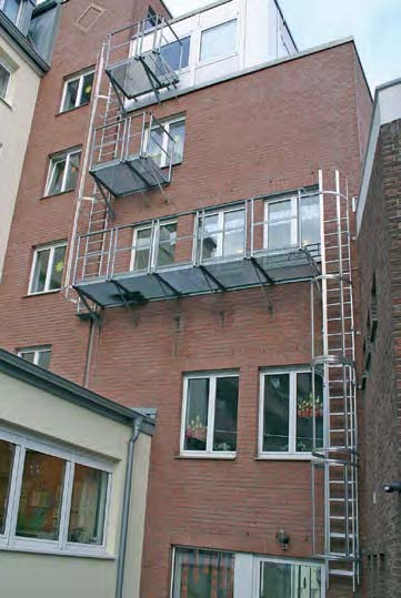 Sabit nərdivanlar  Настенные лестницы
