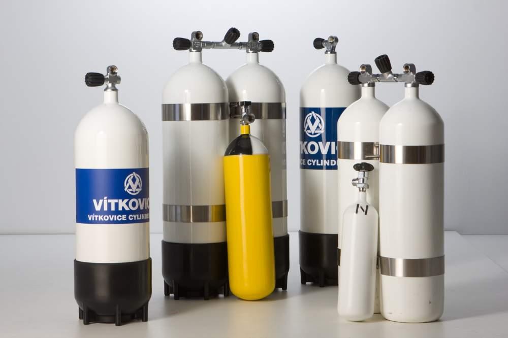 Купить Бесшовные Стальные Газовые Баллоны - Vitkovice Cylinders,