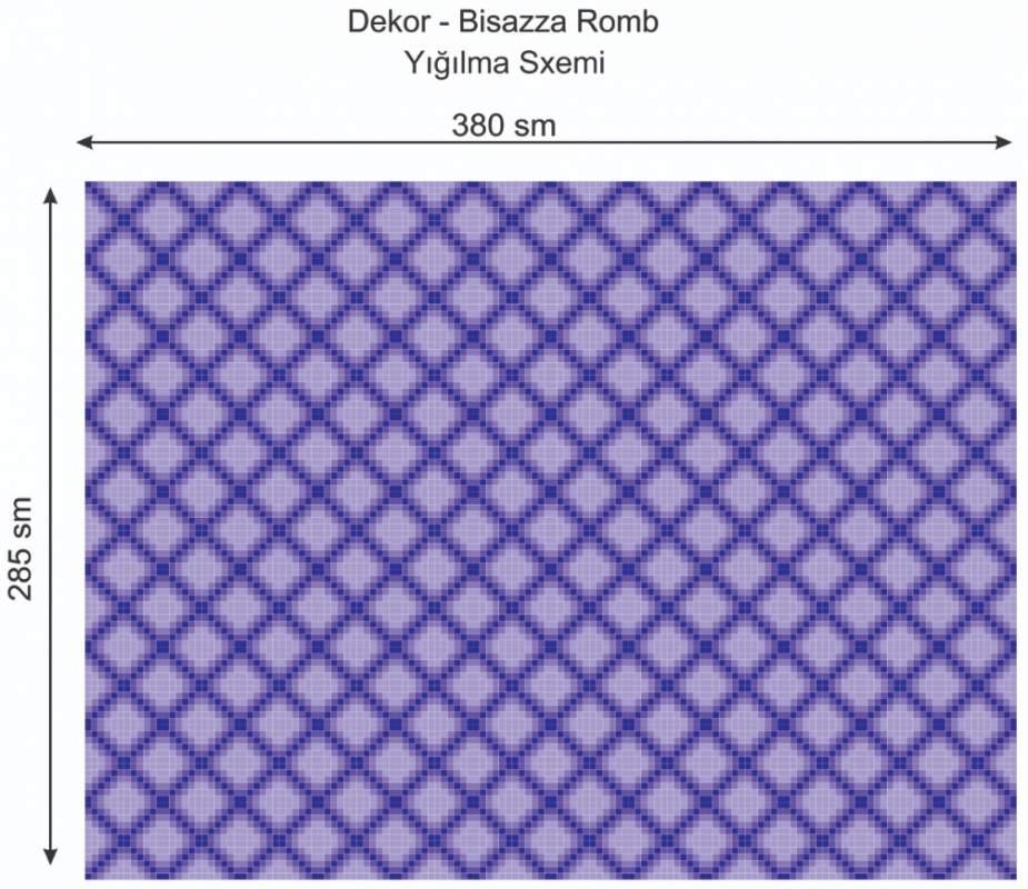 Купить Дизайнерский декор Dek-Bisaz-Romb-001
